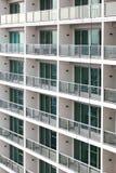 Modelo de los edificios de Windows fotografía de archivo