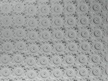 Modelo de los engranajes que entrelaza ilustración del vector