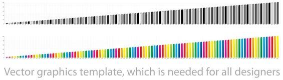 Modelo de los gráficos de vector Fotografía de archivo libre de regalías