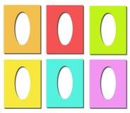 Modelo de los huevos de Pascua Fotos de archivo