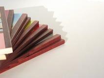 Modelo de los libros Fotografía de archivo