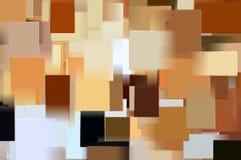 Modelo de los rectángulos Foto de archivo libre de regalías