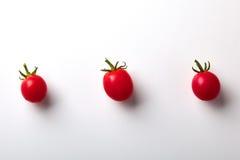 Modelo de los tomates de cereza Imagen de archivo