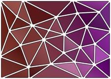 Modelo de los triángulos Imágenes de archivo libres de regalías