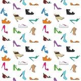 Modelo de los zapatos de las mujeres Imagenes de archivo