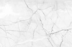 Modelo de mármol blanco del fondo del extracto de la textura con alto resol Fotografía de archivo libre de regalías