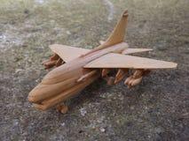 Modelo de madeira Foto de Stock Royalty Free