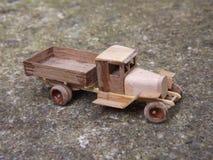 Modelo de madeira Foto de Stock