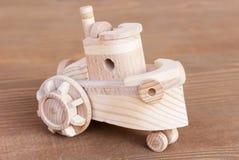 Modelo de madeira do barco Fotografia de Stock