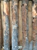Modelo de madera complejo Foto de archivo