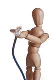 modelo de madera de la muñeca del maniquí del gestalta de Ikea imagenes de archivo