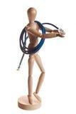 modelo de madera de la muñeca del maniquí del gestalta de Ikea fotografía de archivo
