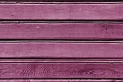 modelo de madera de la pared del color rosado Imagen de archivo libre de regalías