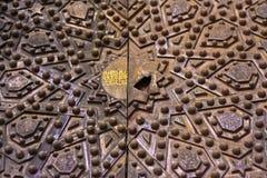 Modelo de madera de la textura de Brown Foto de archivo libre de regalías