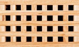 Modelo de madera de la textura del enrejado Spruce Foto de archivo