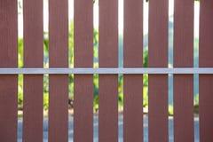 Modelo de madera del fondo de la cerca Foto de archivo libre de regalías