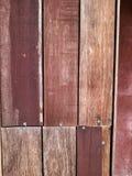 Modelo de madera del listón Fotografía de archivo
