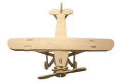 Modelo de madera del plano Fotografía de archivo