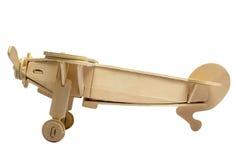 Modelo de madera del plano Imagen de archivo