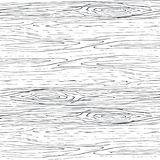 Modelo de madera inconsútil del gris del grano Fondo de madera del vector de la textura Imagen de archivo