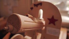 Modelo de madera de la ametralladora de la máxima Montado en una escala de uno a uno Memoria histórica