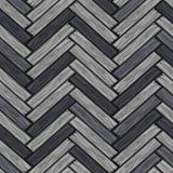 Modelo de madera de las baldosas de la raspa de arenque Tablero de madera gris del entarimado de la textura inconsútil Ejemplo de stock de ilustración