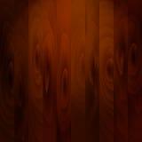 Modelo de madera, muy marrón oscuro Foto de archivo