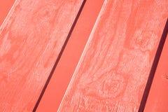 Modelo de madera rojo Imagen de archivo libre de regalías
