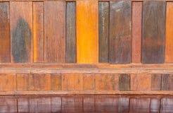 Modelo de madera sólida usado como fondo Imágenes de archivo libres de regalías