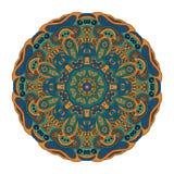 Modelo de Mandala Eastern stock de ilustración