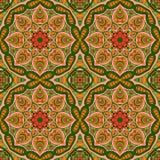 Modelo de Mandala Eastern Ornamento inconsútil de Zentangl ilustración del vector