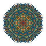 Modelo de Mandala Eastern Ornamento redondo de Zentangl libre illustration