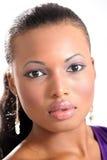Modelo de manera hermoso - mujer joven fotografía de archivo libre de regalías