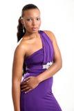 Modelo de manera hermoso - mujer joven Imagen de archivo libre de regalías