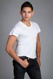 Modelo de manera masculino Fotografía de archivo libre de regalías