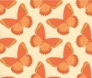 Modelo de mariposa anaranjado Foto de archivo