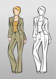 Modelo de moda Imagen de archivo
