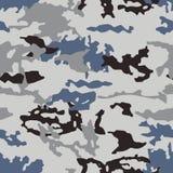 Modelo de moda del camuflaje, vector inconsútil Impresión de Millatry la textura de la ropa, el disfraz de un cazador libre illustration