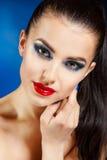 Modelo de moda del estilo de Vogue de la belleza Girl foto de archivo
