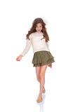 Modelo de moda del niño joven foto de archivo