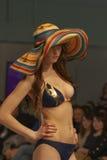 Modelo de moda en la moda 2013 de Kyiv Foto de archivo