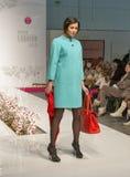 Modelo de moda en la moda 2013 de Kyiv Imagenes de archivo
