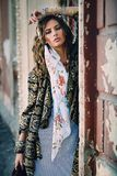Modelo de moda femenino Fotografía de archivo
