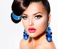 Modelo de moda Girl Imagenes de archivo