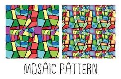 Modelo de mosaico Foto de archivo
