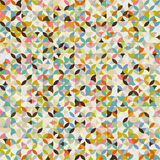 Modelo de mosaico abstracto Foto de archivo libre de regalías