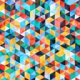 Modelo de mosaico abstracto Imágenes de archivo libres de regalías