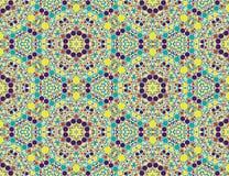 Modelo de mosaico abstracto, textura de las tejas de mosaico del modelo Fotos de archivo libres de regalías