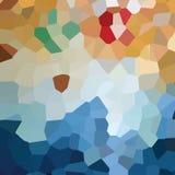 Modelo de mosaico abstracto, textura de las tejas de mosaico del modelo Imagenes de archivo