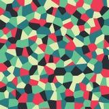 Modelo de mosaico abstracto, textura de las tejas de mosaico del modelo Fotografía de archivo libre de regalías